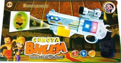 Shop & Shoppee Chhota Bheem Projector Gun