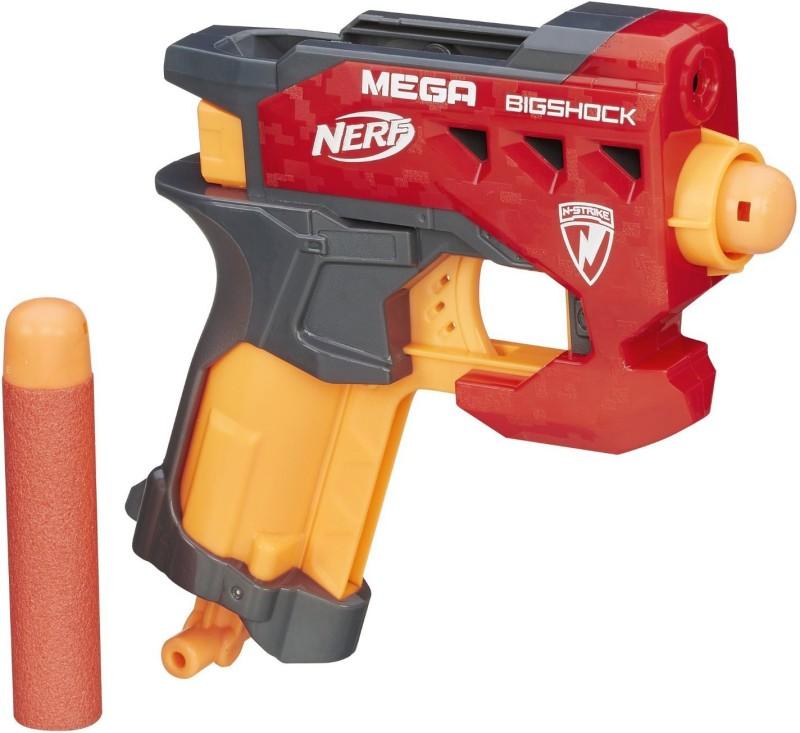 Nerf N Strike Mega BigShock Blaster(Multicolor)