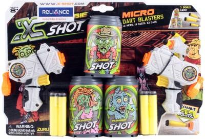X Shots Zombie Micro Dart Blasters