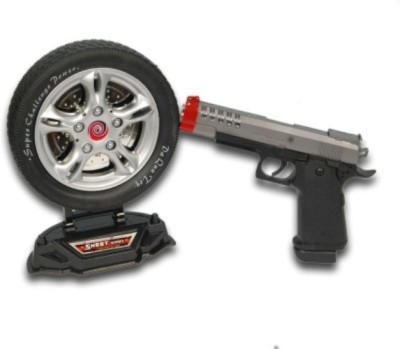 Dinoimpex Dino Battery operated Gun with laser
