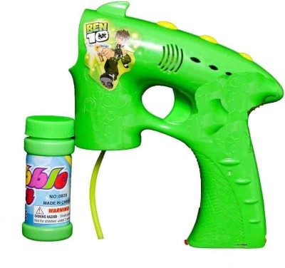 Switch Control Ben 10 Electronic Bubble Gun + 2 refillers (batteries not included) Toy Bubble Maker