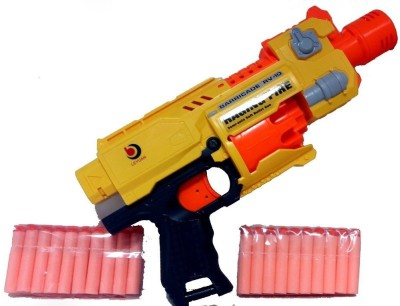 just toyz Racing Fire Semi-Auto Soft Bullet Gun For Kids