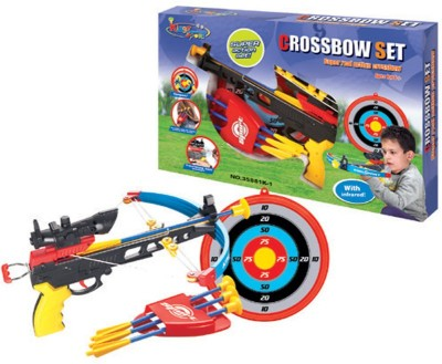 King Sport Real Action Mini-Pistol Crossbow Set With Blunt Darts
