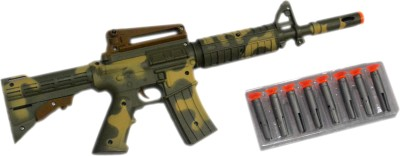 Shop4everything Army Long gun with 8 shooting bullets.