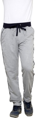 Crux&Hunter Solid Men's Grey Track Pants