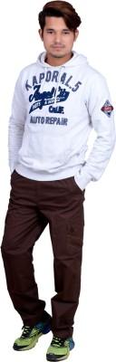 Legmark Solid Men's Brown Track Pants