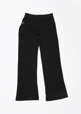 Nike Action Solid Girl's Black Track Pants