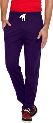 Softwear Striped Men's Purple Track Pants
