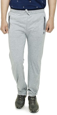 Cayman Fashion Solid Men's Grey Track Pants