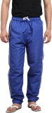 X-Cross Solid Men's Blue Track Pants