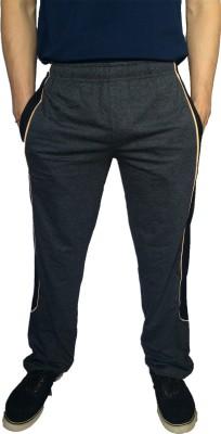 Fizzique Solid Men's Grey Track Pants