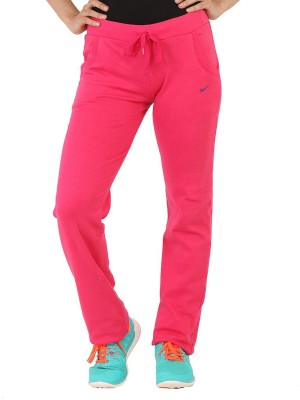 Bottoms More Solid Women's Pink Track Pants