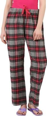 X-Plore Striped Women's Grey, Red, Black Track Pants