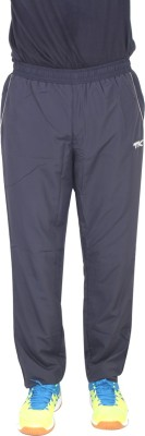 TK Mazum Solid Men's Dark Blue Track Pants