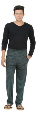 Broche Printed Men's Green Track Pants