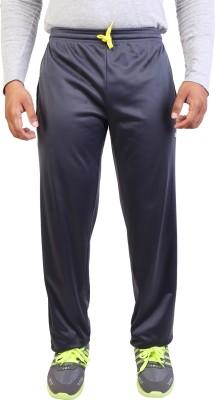 Obvio Solid Men's Grey Track Pants