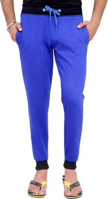 Rakshita Collection Solid Men's Blue Track Pants