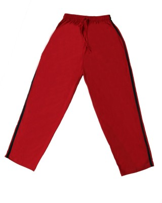 Ice Solid Boy's Red Track Pants