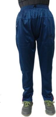 Cona Solid Men's Blue Track Pants