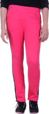 Rafters Solid Women's Pink, Black Track Pants