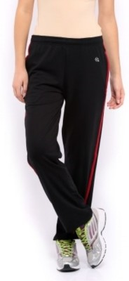 Macrowoman Active Solid Women's Black Track Pants