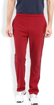 2go Solid Men's Red, Black Track Pants