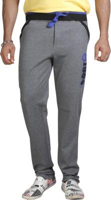 AVOQ-Style Reboot Zipper Pocket Solid Men's Black, Blue Track Pants