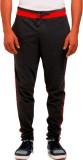 Vego Self Design Men's Black Track Pants