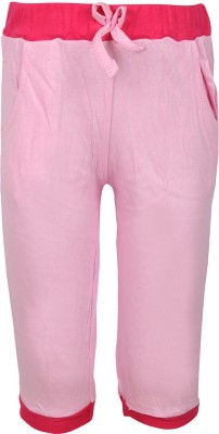 Jazzup Jogger Track Pants Solid Girl's Pink, Red Track Pants