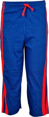 Gee & Bee Solid Boy's Dark Blue Track Pants