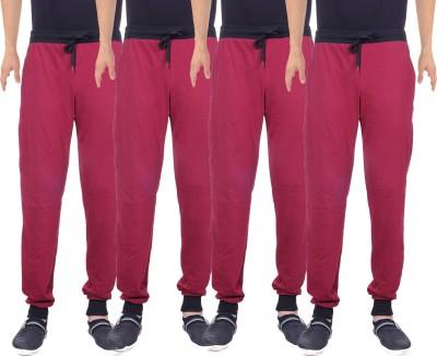 Gag Wear Solid Men's Multicolor Track Pants
