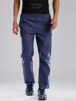HRX by Hrithik Roshan Woven Men's Blue Track Pants