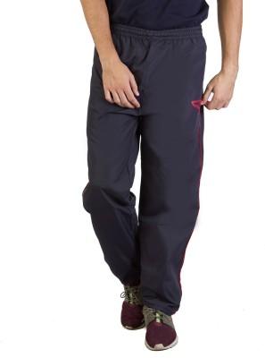Burdy Solid Men's Dark Blue Track Pants