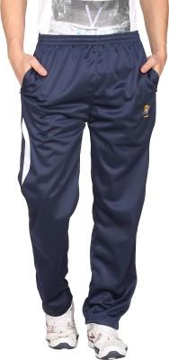 Vwear Solid Men's Blue Track Pants