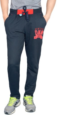 London Eye Embroidered Men's Blue, Red Track Pants