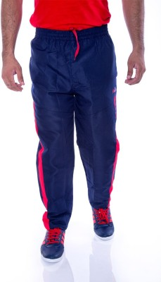 Choice4U Solid Men's Dark Blue, Red Track Pants