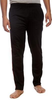 Kanter Solid Men's Black Track Pants