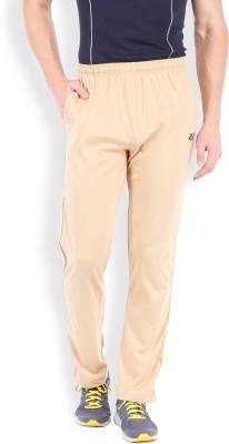 2go Solid Men's Beige, White Track Pants