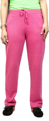 By The Way Solid Women's Purple Track Pants