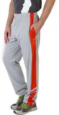 Masch Sports Solid Men's Grey, Orange Track Pants