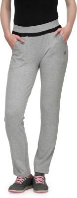 Aspasia Solid Women's Grey Track Pants