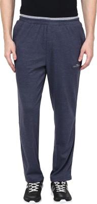 Fritzberg Solid Mens Blue Track Pants