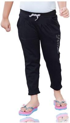 Mint 135124B Solid Girl's Black Track Pants