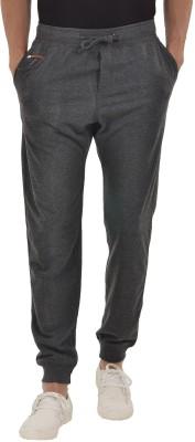 YOO Solid Men's Grey Track Pants