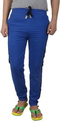 Inchitape Solid Men's Blue Track Pants