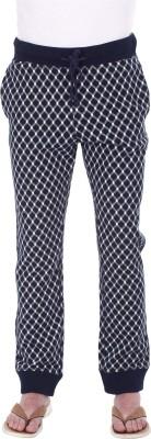 Zobello Checkered Men's Multicolor Track Pants