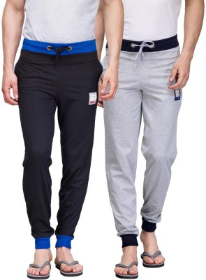 TSX Solid Men's Grey, Black Track Pants