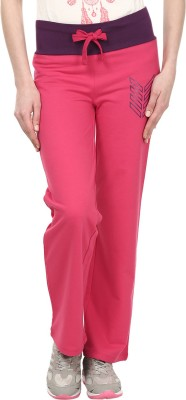 Ruse Solid Women's Pink Track Pants