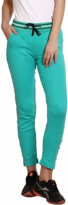 Softwear Solid Women's Green Track Pants