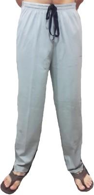 Bluedge Solid Men,s Grey Track Pants